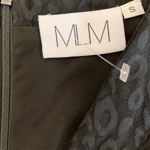 MLM Dresses - Little Black Dress MLM Label Ruffle Size S